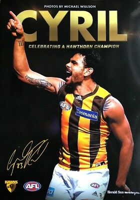 CYRIL: Celebrating A Hawthorn Champion Limited Edition Magazine Afl