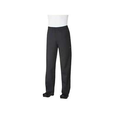 Chef Works Lightweight Black Baggy Chef Pants - BBLW