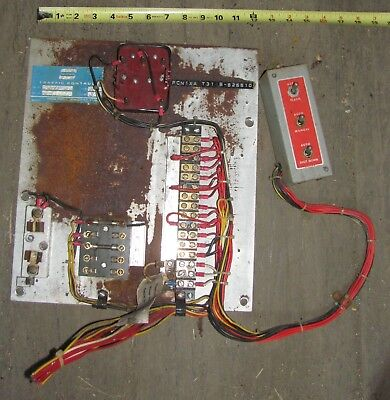 Crouse Hinds PCN Traffic Signal Light Controller Back Panel