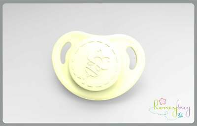 Honeybug Cutiepie Design Magnetic Micro Preemie Dummy Frosted yellow Reborn Baby