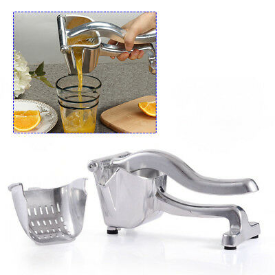 Commercial Hand Manual Lemon Squeezer Citrus Press Juice Fruit Juicer Extractor