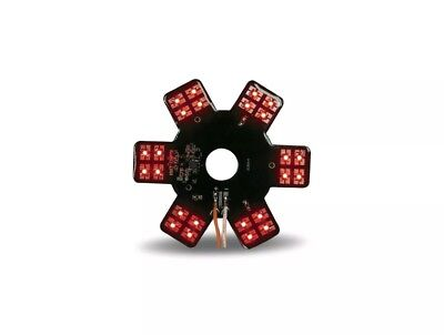 "5"" Star LED Light for 13"" Donaldson & Vortox Air Cleaners - Red"