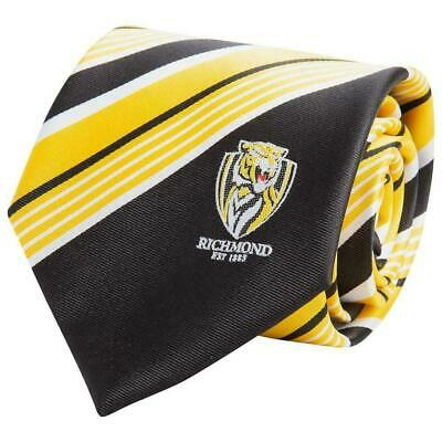 52215 Richmond Tigers 2017 Afl Premiers Colour Stripe Neck Dress Tie