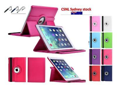 360 Rotating Smart Leather iPad Case Cover For Ipad Air one/two NEW ipad 2017/18