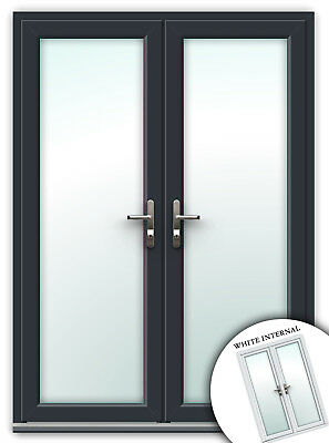 French Doors | RAL 7016 | uPVC Back Door / Made to Measure / UK Manufactured
