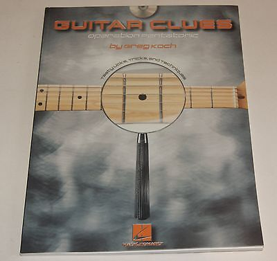 Guitar Clues Operation Pentatonic Greg Koch Gitarre Lernmethode Notenbuch CD NEU