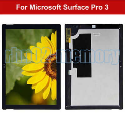 Per Microsoft Surface Pro 3 1631 LCD Touch Digital Display Assembly 2160 * 1440