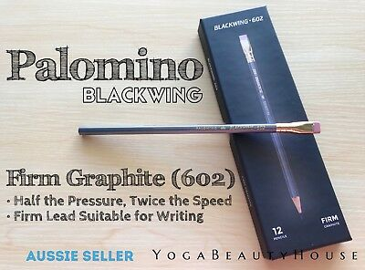 Palomino Blackwing 602 Firm Graphite 1pc Pencil art calligraphy write pen hard