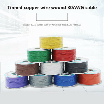 Breadboard P/N B-30-1000Tin Plated Copper Wire Wrapping 30AWG Cable 305M