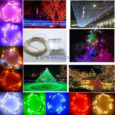 2M 3M 5M 10M 100LEDs Battery Power Christmas LED String Light  Fairy Light
