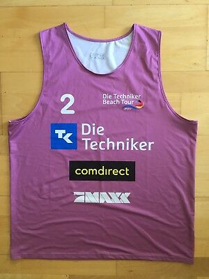 Beachvolleyball Shirt Deutsche Tour