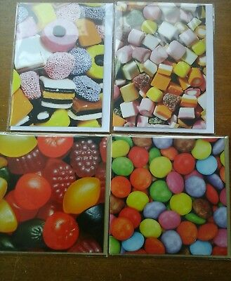 25 sweet cards, wholesale joblot greeting cards