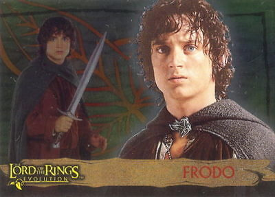 """2006 LORD of the RINGS """"EVOLUTIONS"""" TOPPS FOIL PROMO TRADING CARD - V/GOOD COND"""