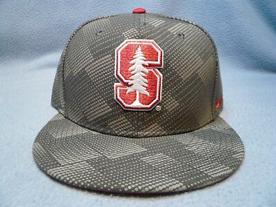 Nike Stanford Cardinal Anthracite BRAND NEW snapback hat cap Flat Bill Football