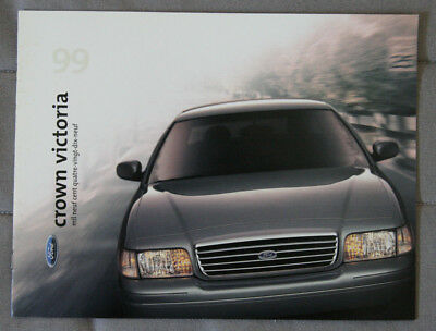 FORD CROWN VICTORIA 1999 dealer brochure - French - Canada - ST1002001217