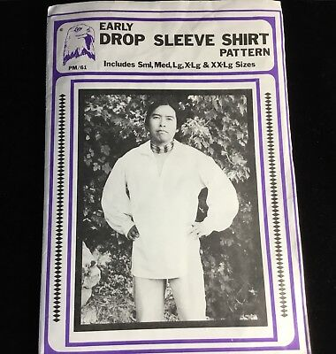 Pattern~Costume~Early Drop Sleeve Shirt~Eagle's View~Size 36-50~Cosplay~History~