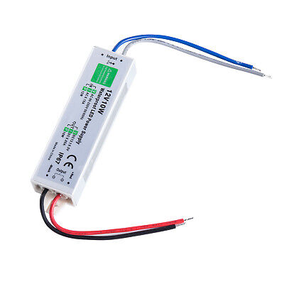 waterproof dc 12v 10w 083a electronic led strip driver power supply