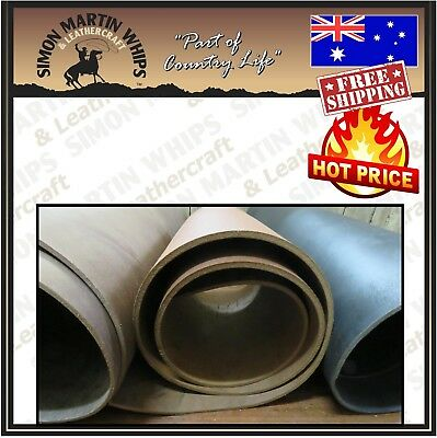 """Vintage"" Buffalo Belt Leather Tanned Hide Single Butt Skin - Beautiful Quality"