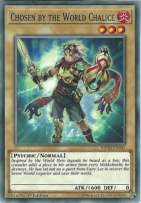 Yu-Gi-Oh: Chosen by the World Chalice - MP18-EN045 - Common Card - 1st Edition