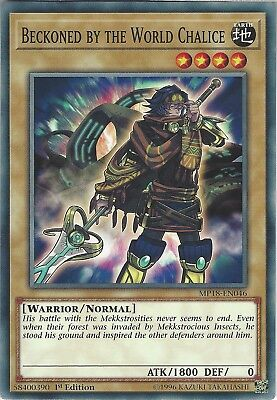 Yu-Gi-Oh: Beckoned by the World Chalice - MP18-EN046 - Common Card - 1st Edition