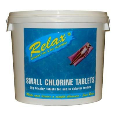 Relax Small (20g) Chlorine Tablets 5kg