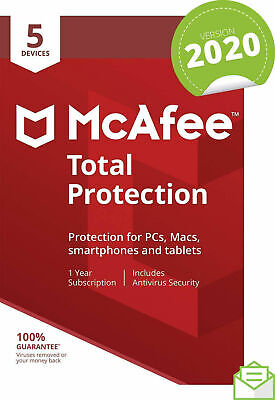 Mcafee LiveSafe 2018 ✅ 3 year Subscription-Unlimited Device✅1095 Days NOT KEY.