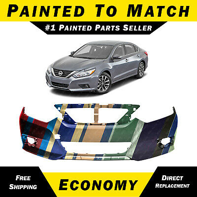 cebbe3cbdd1 NEW Painted To Match Front Bumper Cover Fascia for 2016-2018 Nissan Altima  16-