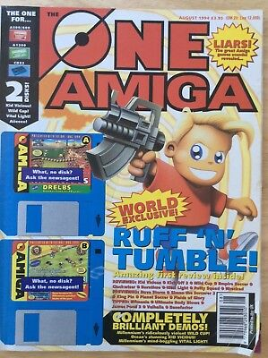The One, Amiga games magazine, August 1994 (no cover disk)
