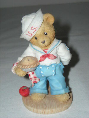 "1996 Enesco Cherished Teddies BOB Sailor ""Our Friendship Is From Sea Certificate"