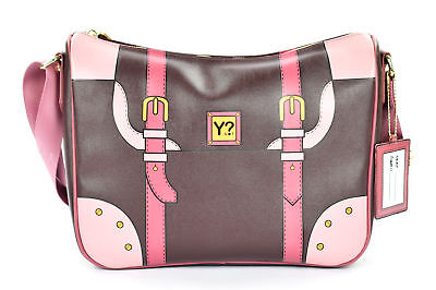 Borsa Donna Tracolla Ynot  Dream Dr06 Dark Brown Scontata 15b22187233