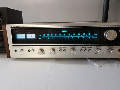 VINTAGE PIONEER AM Fm Stereo Receiver Model Sx-636