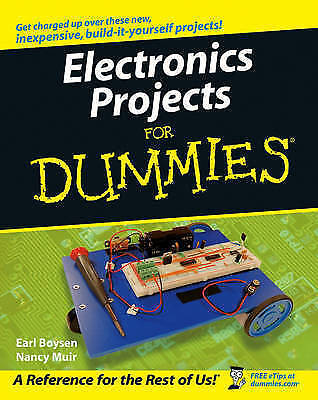 Electronics Projects for Dummies ,Earl Boysen and Nancy Muir Learning Book Pdf