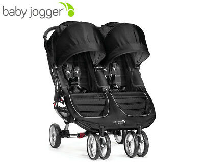 Baby Jogger City Mini Double Pram - Black