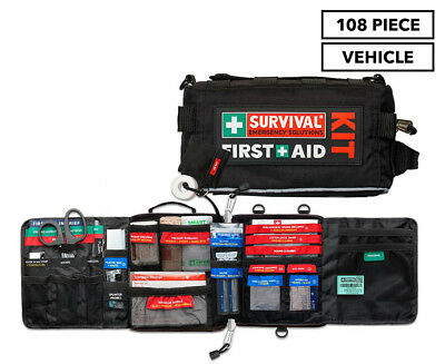 Survival Vehicle First Aid Kit 108 Piece
