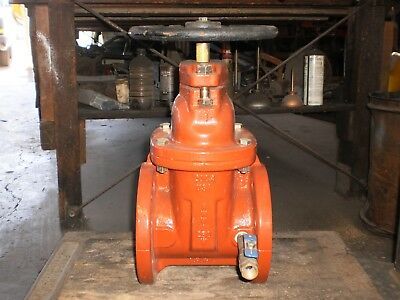 Gate Valve 4In Flanged Clow Valve Co Resilient Wedge Nos