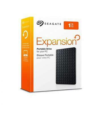 Seagate Expansion Portable External Hard Drive 1TB STEA1000400 USB 3.0 New