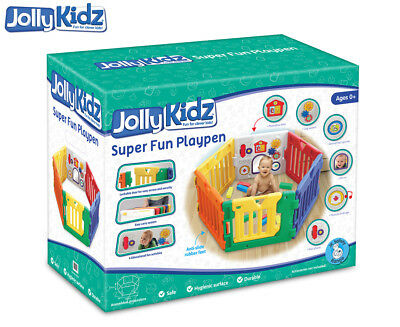 Jolly Kidz Super Fun Playpen