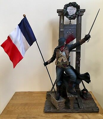 Assassins Creed Unity Guillotine Edition Statue Figure Figurine Arno Assassin's