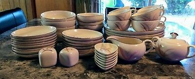 Vintage Winfield China California 49 pieces True Porcelain.