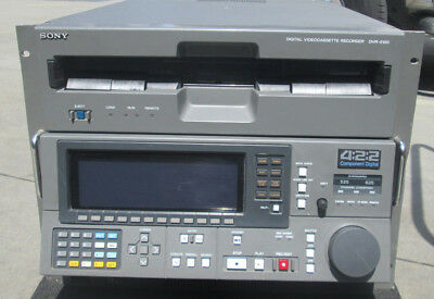 SONY DVR-2100 D1 Digital Video Tape Recorder Player Working