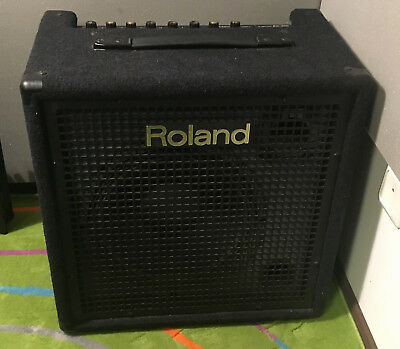"""USA Made Roland KC-300 Stereo Mixing Keyboard Amplifier 12"""" Horn 100W"""