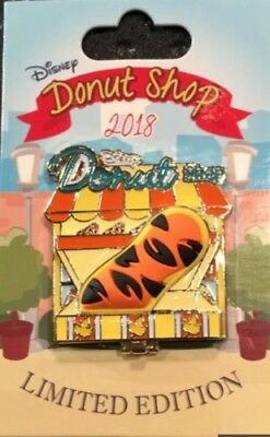Disney Parks Pin of the Month Donut Shop Tigger LE 3000 Disneyland NEW IN HAND