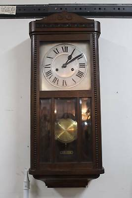 A Vintage Wall Clock - Recently Serviced