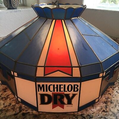 Genuine Vintage Michelob Dry Light Fixture