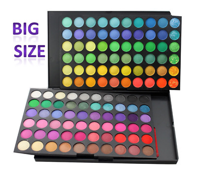 EyeShadow Palette 120 Colors Makeup Pro cosmetics Shimmer Matte Eye shadow USA