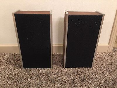 Vintage Sony SS-23 Bookshelf Speakers 12W 8 ohms wood finish