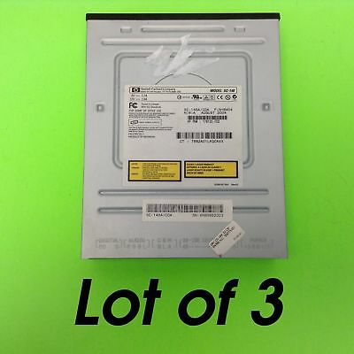*LOT OF THREE* SC-148A HP Black IDE CD-ROM Optical Disc Drive