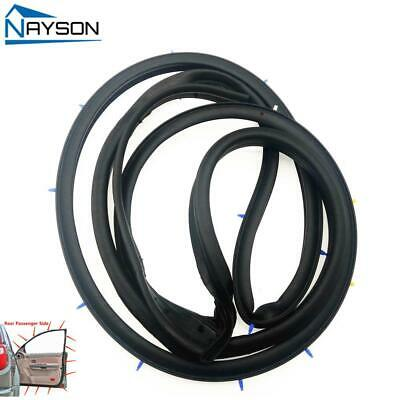 Replacement Door Rubber Seal Weatherstrip Rear Right for Nissan SENTRA 2013-2018