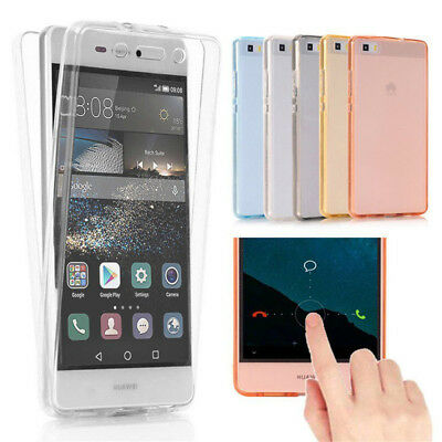 Soft TPU 360° Full Body Protective Case Cover For Huawei P20 Mate 10 Lite Pro P