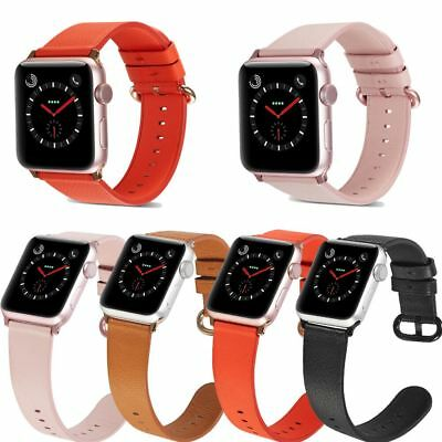 Bracelet Leather iWatch Strap Wrist Bracelet Watch Band For Apple Watch 38/42mm